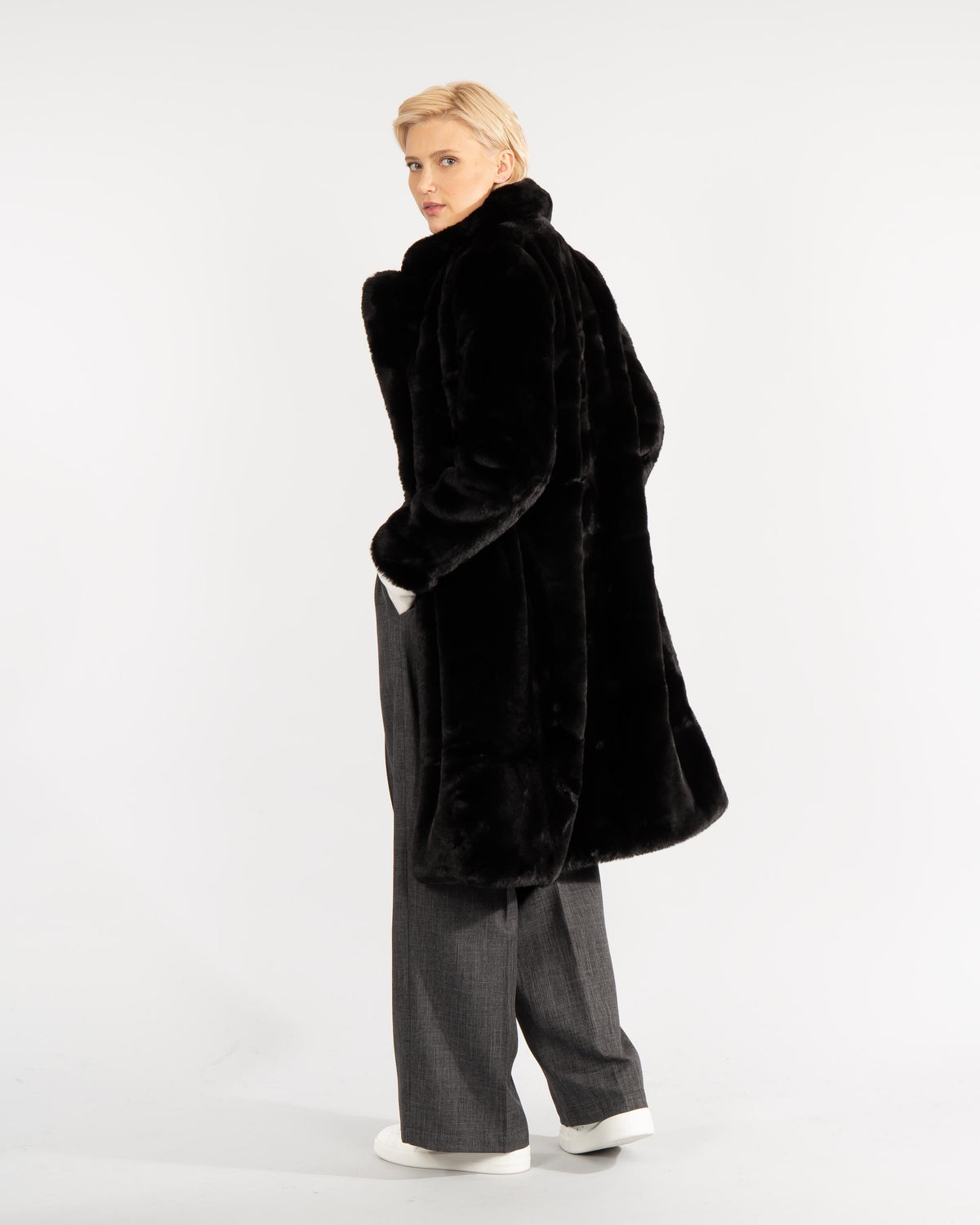 'Siena' Faux Fur Coat