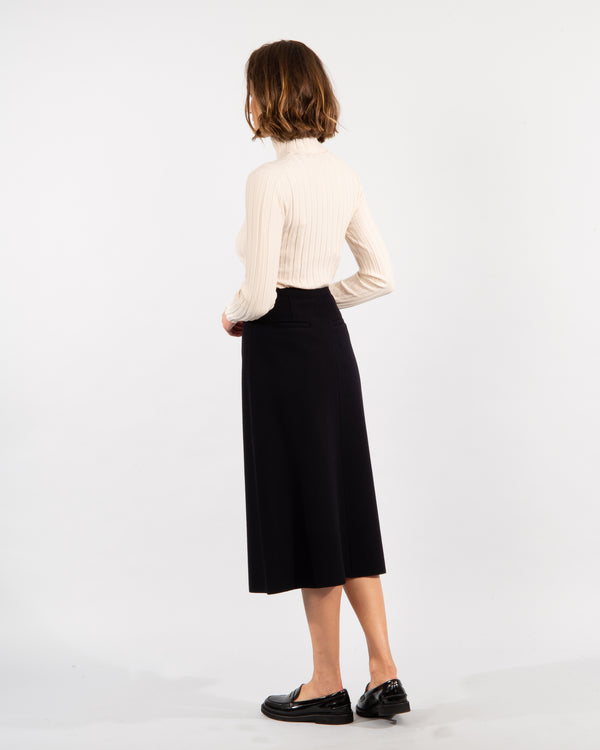Wrap Fleece wool Skirt