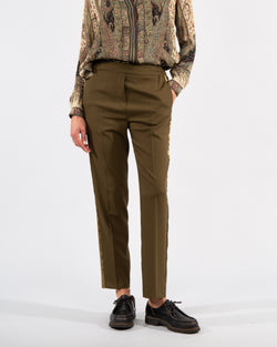 Wool Stretch Trousers