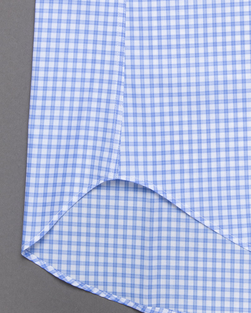 'Zephir' Checked Button-down Shirt