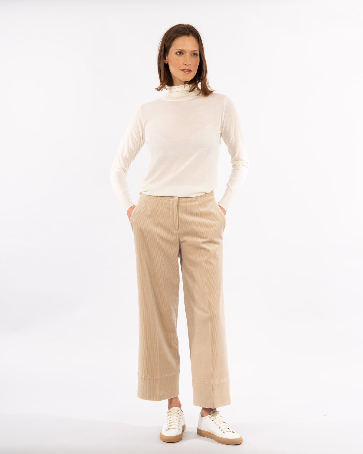 Wide Corduroy Trouser