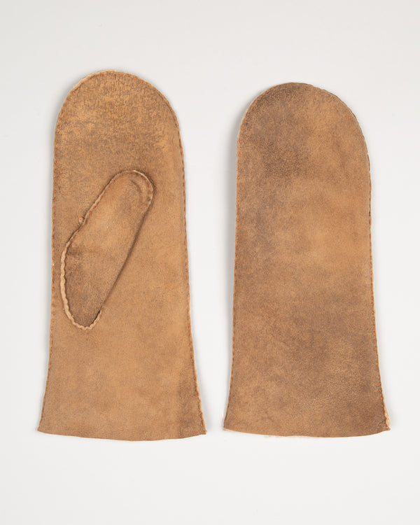 Leather Mittens