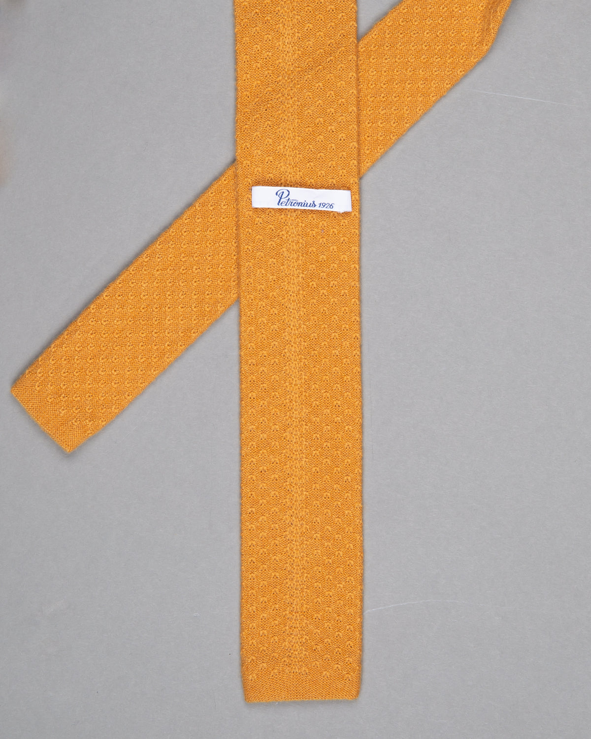 Knitted Cashmere Tie