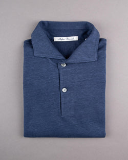 Linen Short Sleeved Polo