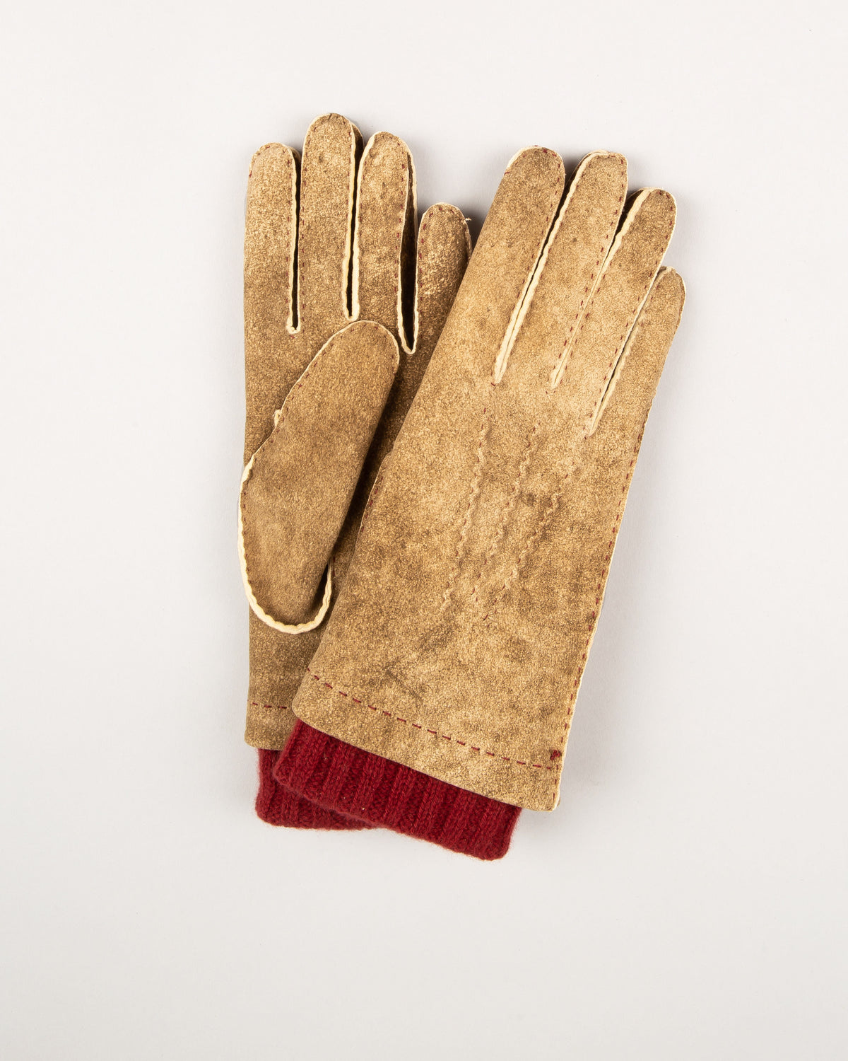 Leather & Cashmere Glove