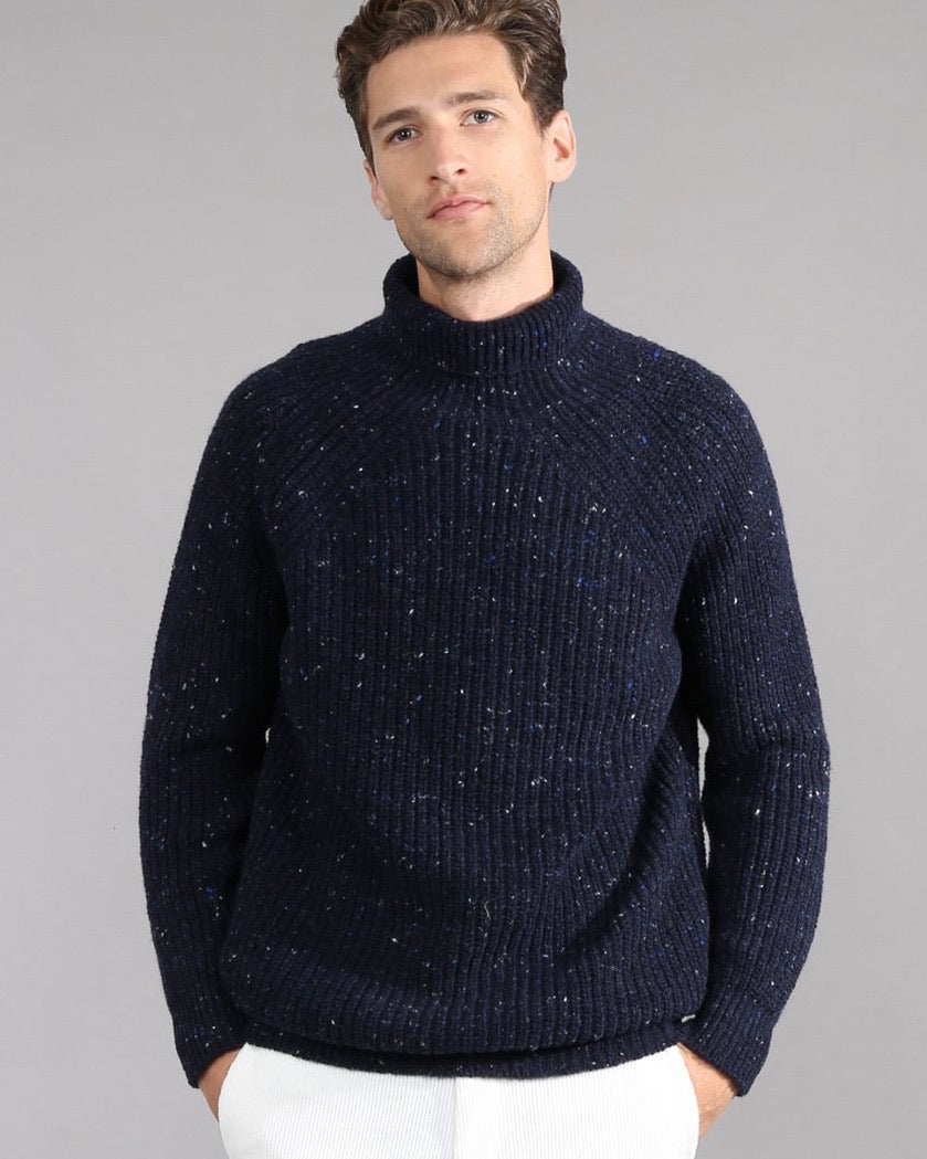 Wool-Cashmere Turtleneck