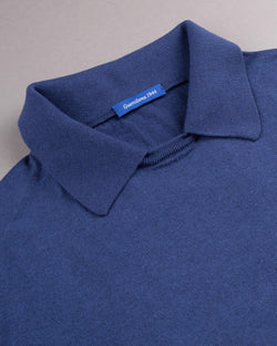 Cashmere Short Sleeved Polo