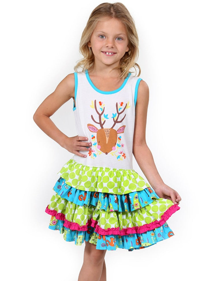 HAPPY DEER DRESS