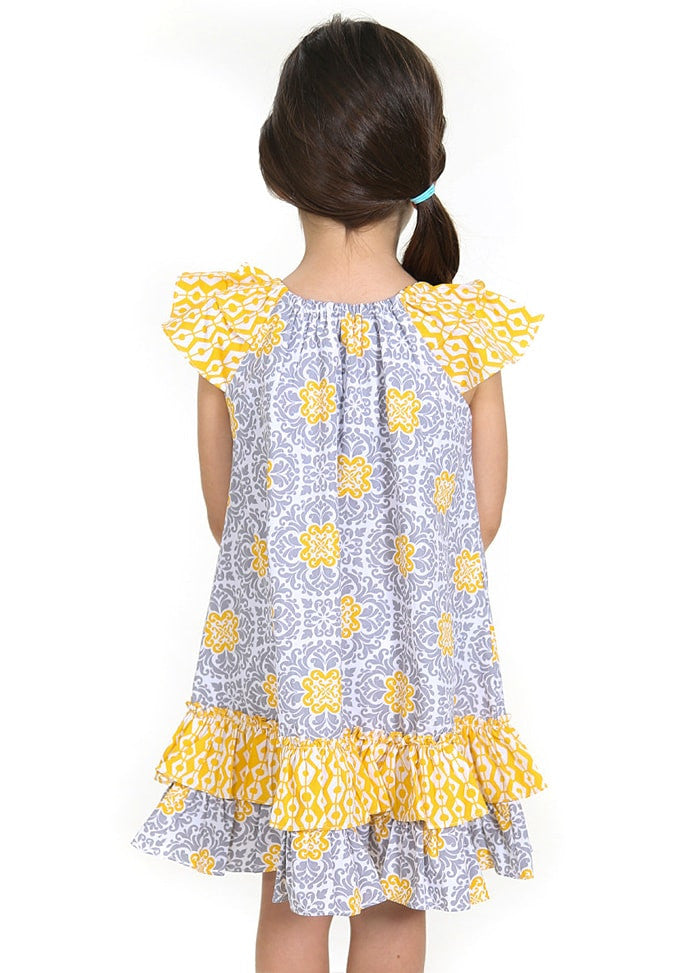 LEMON ROSE DRESS