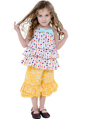 Cute Kid Girl Dress Size 5-6 - ESMERALDA THOMSON