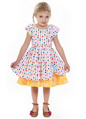 2017 Kid Girl Dresses Size 2-10 - ESMERALDA THOMSON