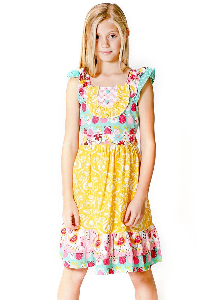 Kid Girl Dresses Size 3-6 - ESMERALDA THOMSON