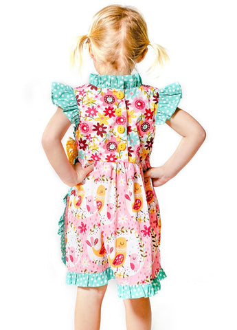 Pink Kid Girl Dresses Size 4-10 - ESMERALDA THOMSON