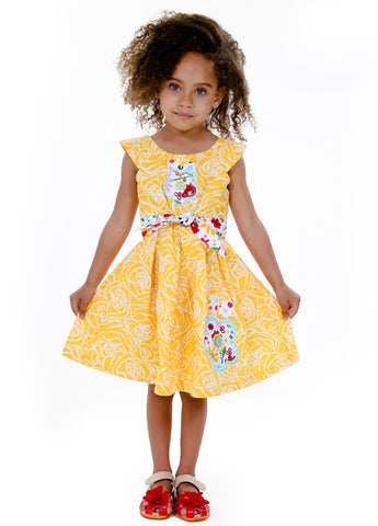 2017 Kid Girl Dresses Size 2-6- ESMERALDA THOMSON