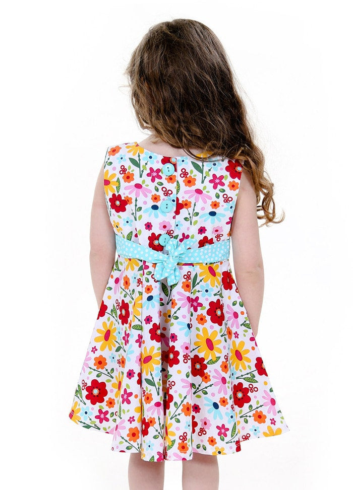 Kid Girl Dresses Size 2-10 - ESMERALDA THOMSON