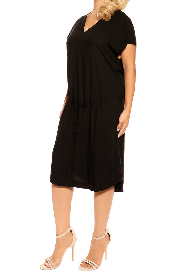 Black Resort Dress - ESMERALDA THOMSON Beach and Resort Wear
