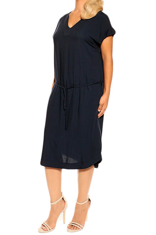 Navy Resort Dress - ESMERALDA THOMSON Beach and Resort Wear