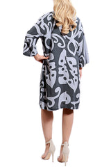 Grey Tunic Resort Dress - ESMERALDA THOMSON Beach and Resort Wear