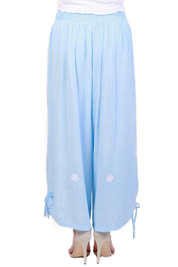 Blue Harem Pants - ESMERALDA THOMSON Beach & Resort Wear