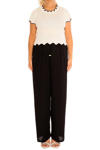 Black Boho Resort Pants - ESMERALDA THOMSON Beach & Resort Wear