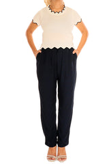 NAVY Boho Resort Pants - ESMERALDA THOMSON Beach & Resort Wear