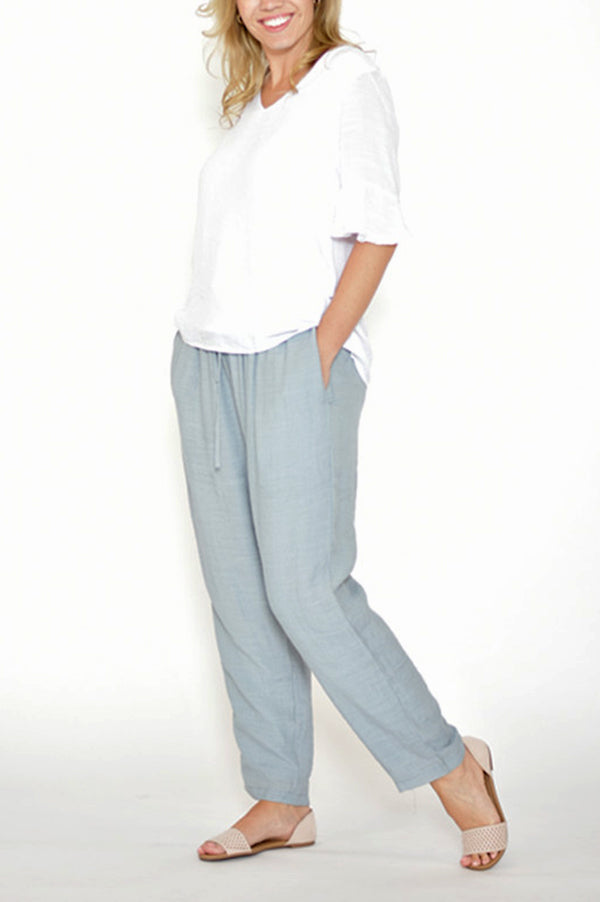Silk Cotton Pants