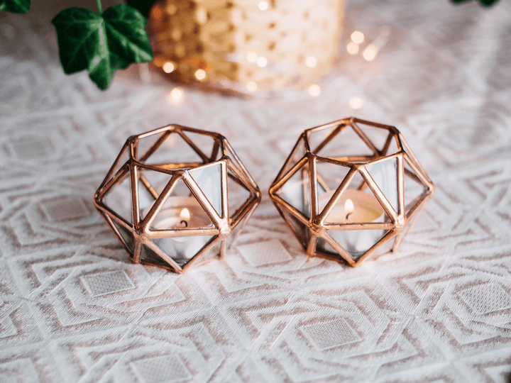 New Product | Geometric Candle Holder Set