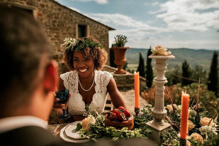 Stunning Village Wedding in the Hills of Florence