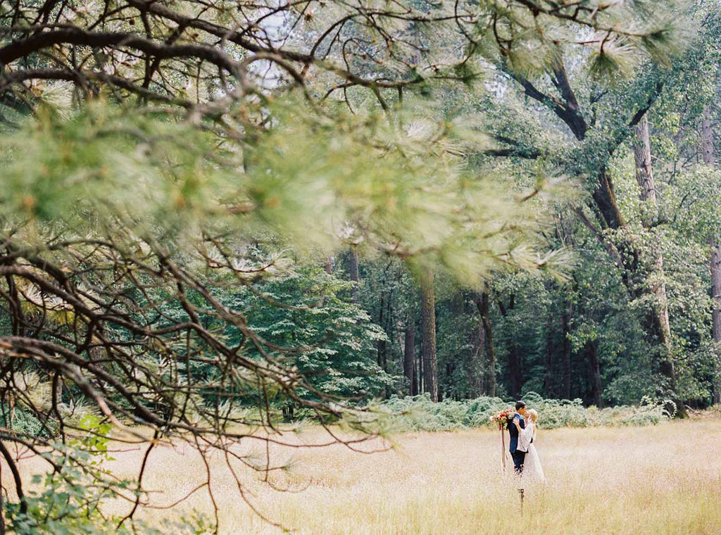 nature inspired bohemian wedding