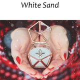 white sand ring box