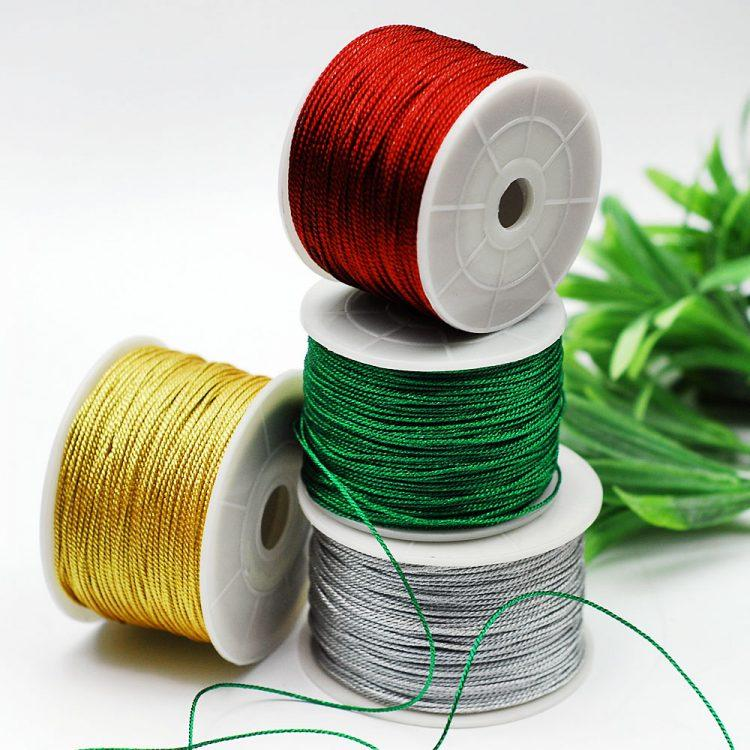 christmas ornament string color