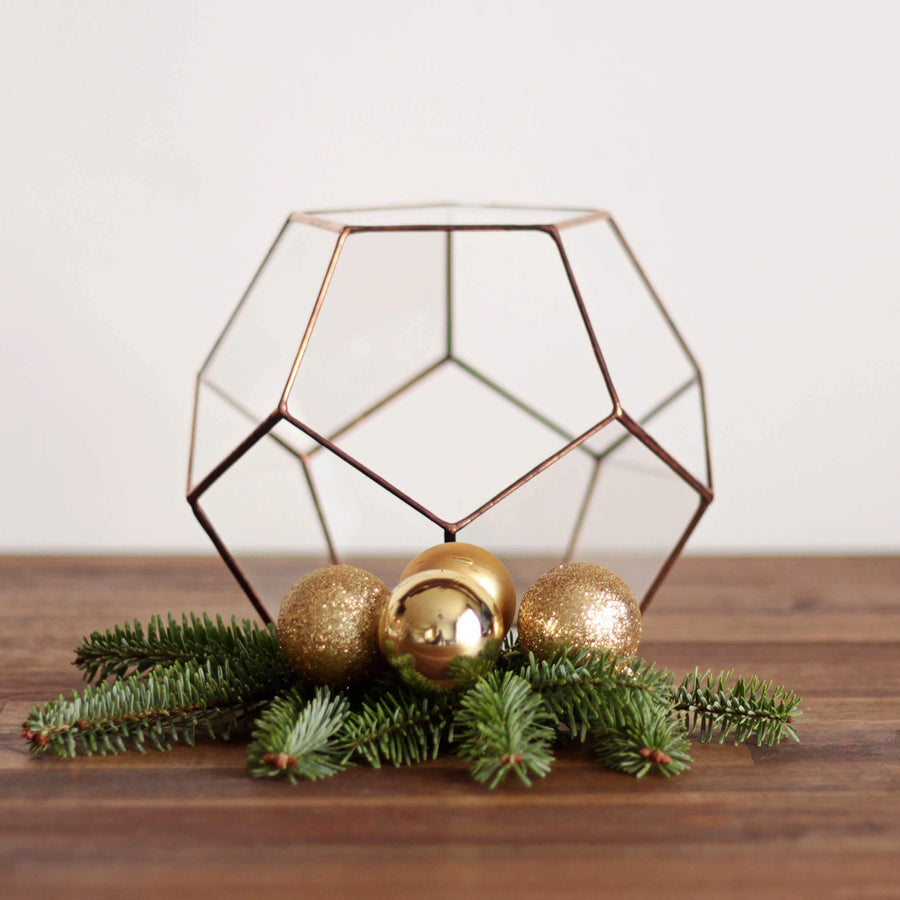 geometric christmas decorations