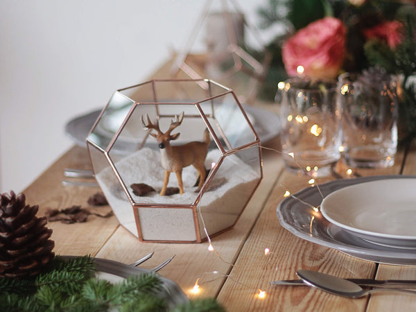 geometric holiday decor