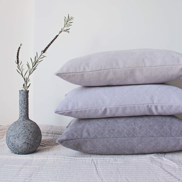 geometric neutral pillows