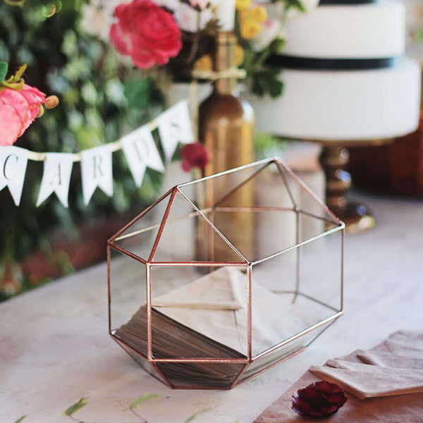geometric wishing well box