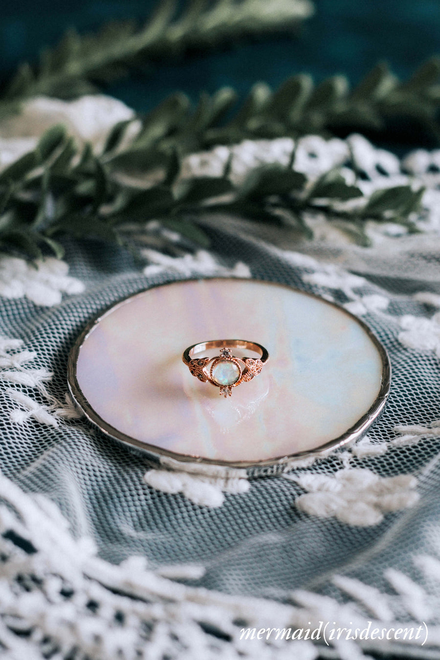 mermaid ring dish