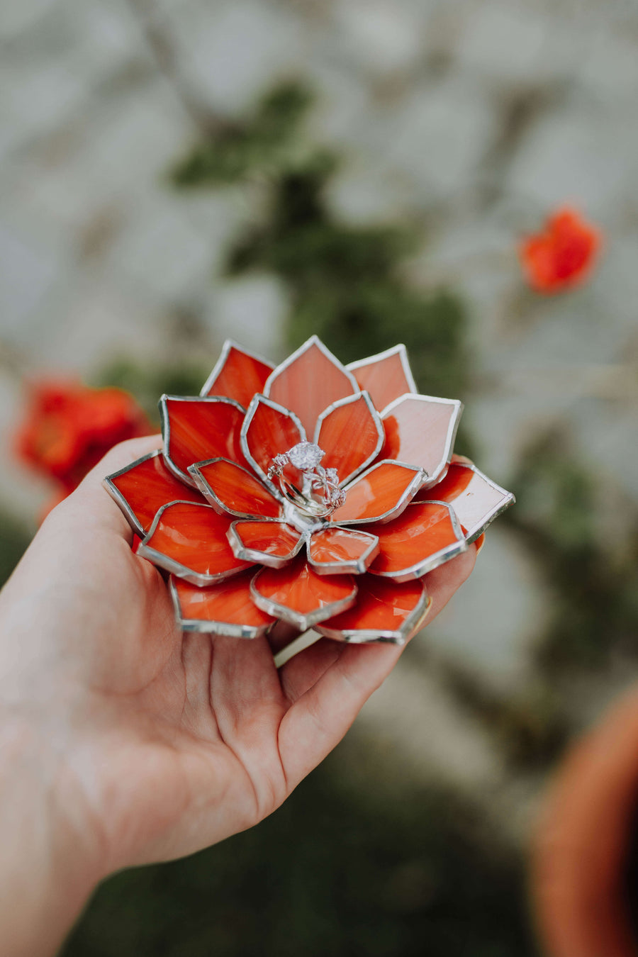 stained-glass-orange-flame-succulent-ring-dish-by-waen
