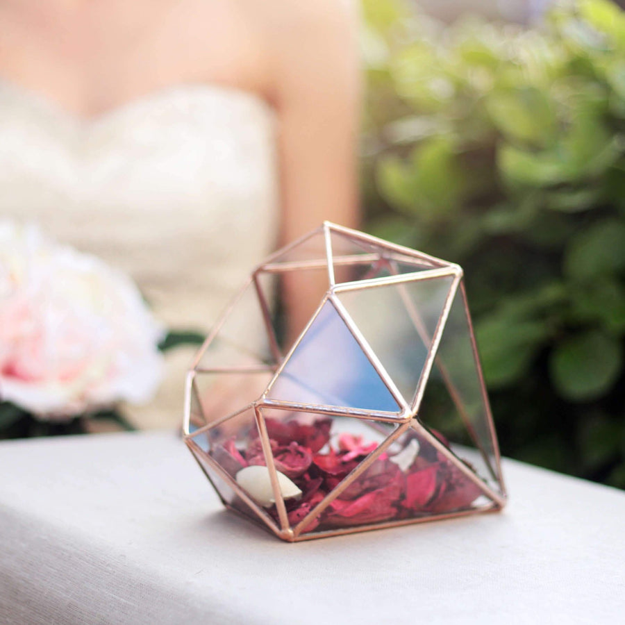 Diamond Terrarium Container | Geometric Indoor Planter