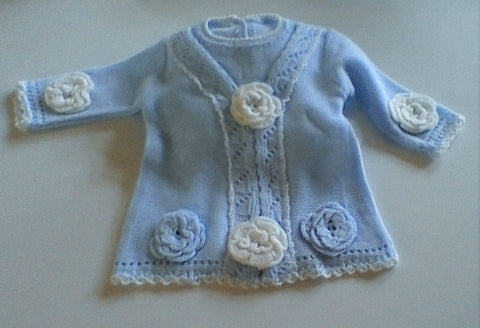 Adorable fine knit dress size 1 mth