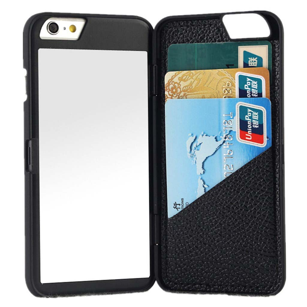 IPHONE MIRROR & WALLET CASE