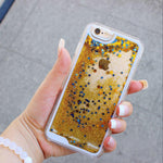 Gold Starfall iPhone Case