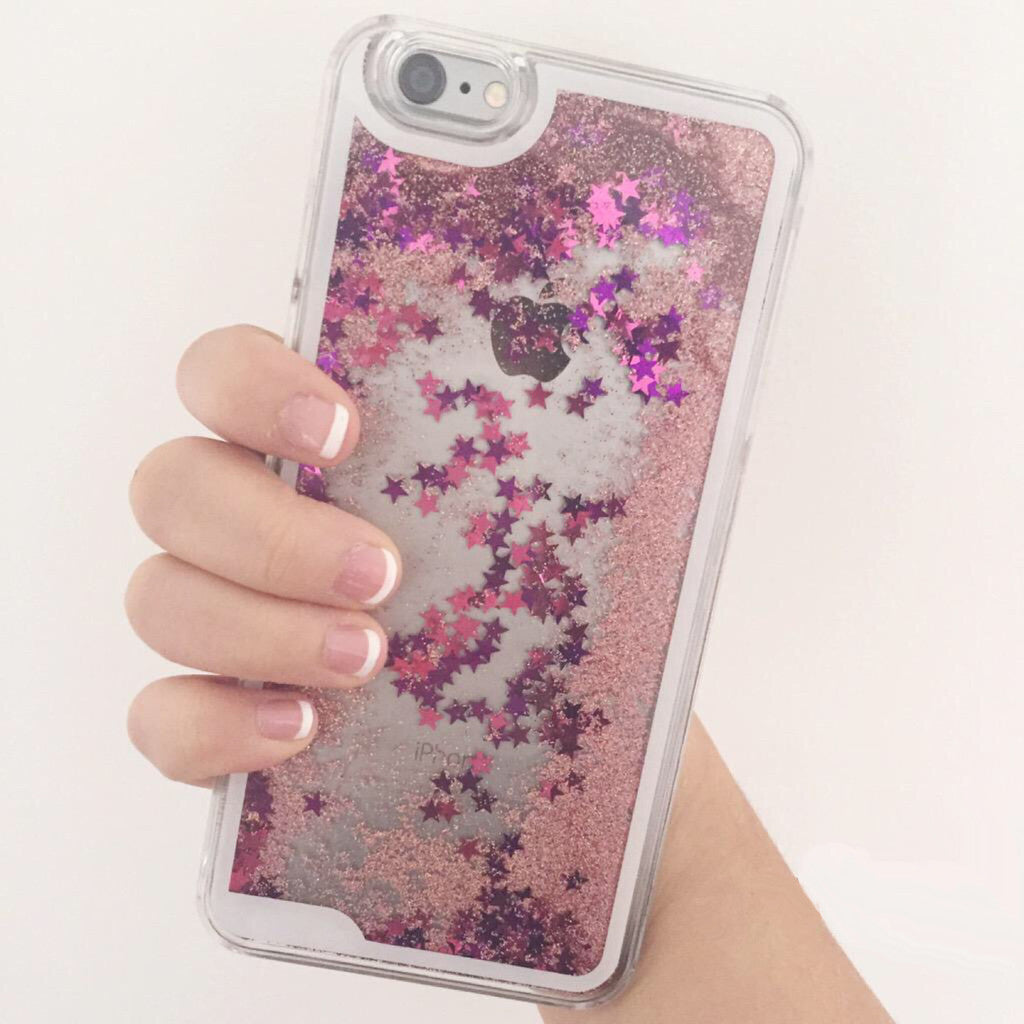 Pink Starfall iPhone Case