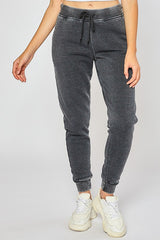 Fleece Burn Out Relax Fit Jogger