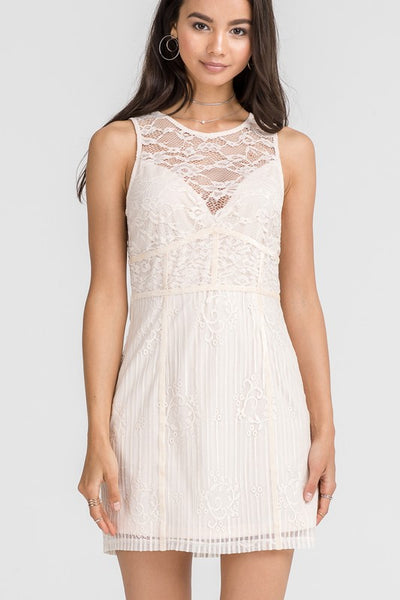 Natural Lace Dress