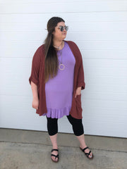 Ruffled Tunic