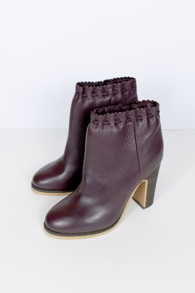 Jane Scalloped Boots
