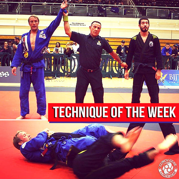Technique of the Week: Armbar from Side Mount