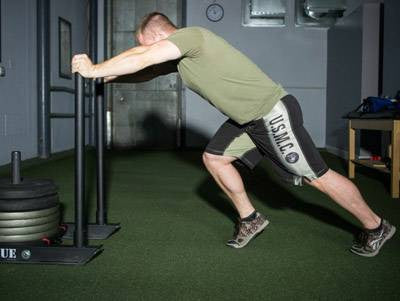 Full Body Split Circuit Training for MMA Athletes