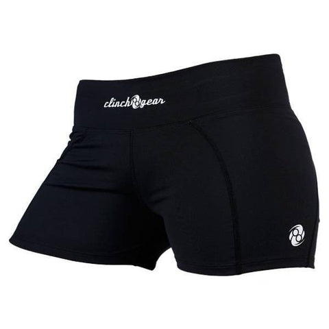 Women's Compression Short- Black - Clinch Gear