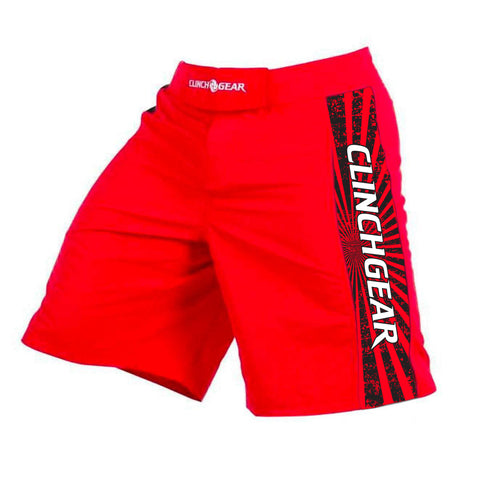 Pro Series Short - Heritage – Red – Black/White - Clinch Gear